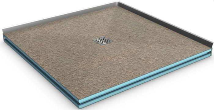 befliesbares duschboard 900x900 mm bzw 90x90 cm komplettset. Black Bedroom Furniture Sets. Home Design Ideas