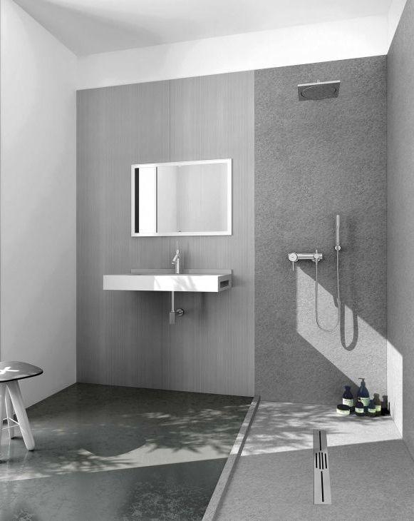 duschr ckwand bis zu 700x2400 mm bzw 70x240 cm aus 7 mm mineralguss. Black Bedroom Furniture Sets. Home Design Ideas