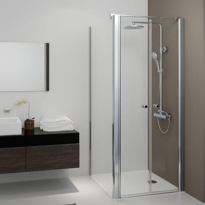pendelt ren 900 mm mit seitenwand 800 mm glas 6 mm. Black Bedroom Furniture Sets. Home Design Ideas
